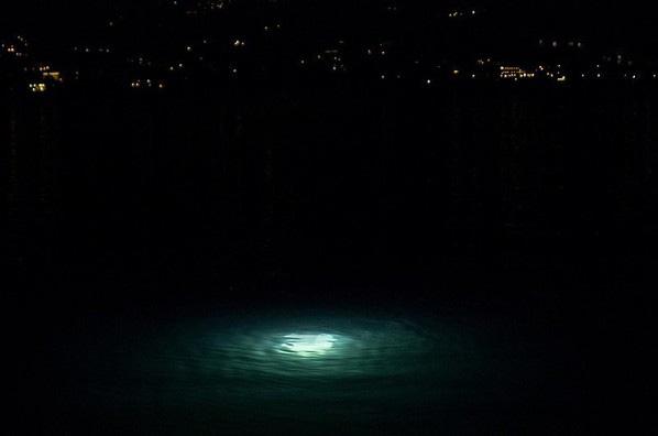 Strane Luci nel Lago di Angera