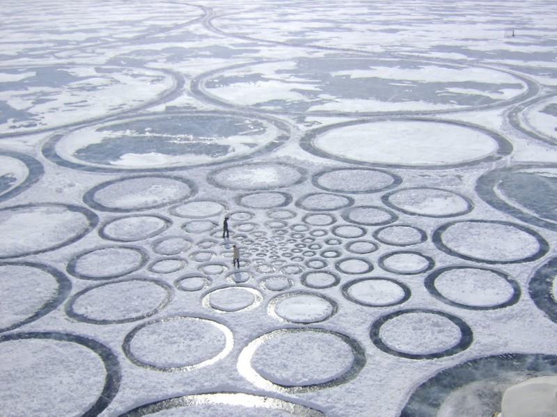 Cerchi nel ghiaccio