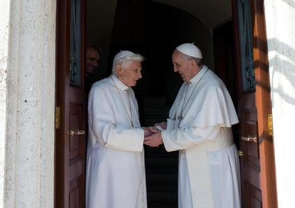 Due papi in Vaticano